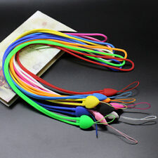 5X PVC Strap Mobile Cell Phone Key USB Badge Cords Strap Lariat Lanyard 38CM New