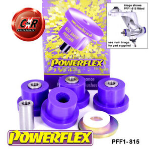 PFF1-815 Powerflex For Alfa Romeo 147 00-10, 156 97-07, GT 03-10 Fr UpArm Bushes