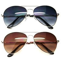 Aviator Style Men Women Fashion Sunglasses Metal Frame Retro Classic Pilot