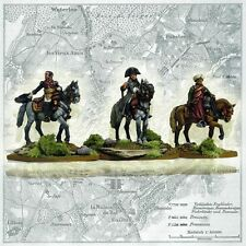 Perry Miniatures FN117 - Napoleon and Staff Mounted - 28mm Metal Black Powder