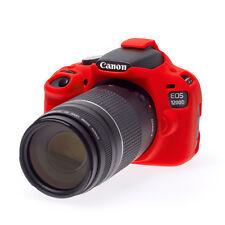easyCover Canon 1200D / T5 EA-ECC1200DR Camera Case RED Silicone FREE US SHIP