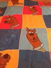 1999 Hanna-Barbera Scooby Doo Twin Flat Sheet/Fabric