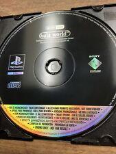Kula WORLD PlayStation 1 seltene Promo Spiel ps1 * siehe andere *