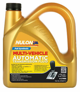 Nulon Synthetic Automatic Transmission Fluid 4L SYNATF-4 fits Bentley Brookla...