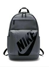 Nike Elemental Sports Backpack Rucksack School Bag Travel 25L grey