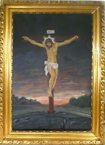 UNSIGNED! JESUS CRUCIFIXION