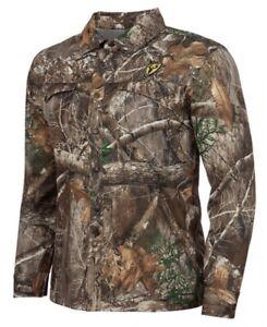 Scent Blocker Angatec Snap Shirt XXL Realtree Edge Turkey & Deer Bowhunting