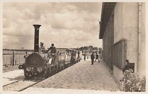 Ansichtskarte  Reichsbahn Ausstellung Nürnberg 1935  Sondestempel  Eisenbahn