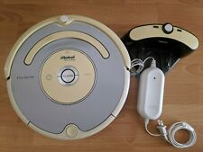 iRobot Roomba Pet Series Black Robotic Vacuum Model 553 Works *Used* Needs Clean