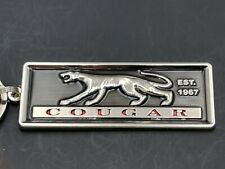 Mercury Cougar Headlight emblem Keychain. (K10)