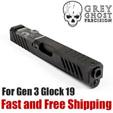 Grey Ghost Precision Match Grade RMR Cut Slide for Glock 19 Gen 3 (Version 1)