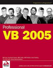 Professional Visual Basic 2005, Sheldon, Bill, Sharkey, Kent, Ramachandran, Rama
