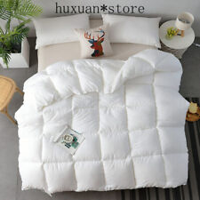 Quilt Warm Comforter Soft Duvet Multiple Size Options Blanket Comforter Filler