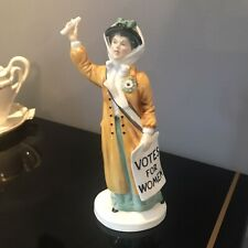 Rare! 1971 Royal Doulton Votes for Women H.N 2816 Porcelain Figurine Mint