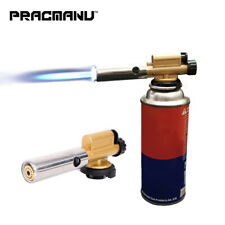 Ignition Copper Flame Gun Metal Electronic Butane Gas Burner Torch Lighter Camp