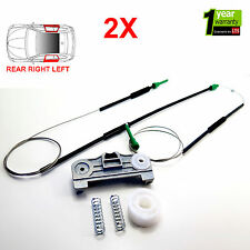 2X BMW 5 SERIES E39 ELECTRIC WINDOW REGULATOR REPAIR KIT REAR RIGHT AND LEFT