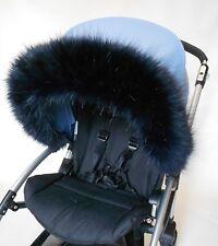 Silver cross wayfare, pioneer Hood fur trim for colour pack pushchair pram hood