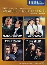 greatest classic legends: Bogie &  Bacall (DVD, 2014, 4-Disc Set)