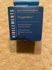 Bioelements Oxygenation Revitalizing Facial Treatment Creme  29ml/1fl.oz. New