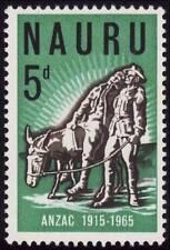 NAURU 1965 ANZAC 1v set MNH @S4783