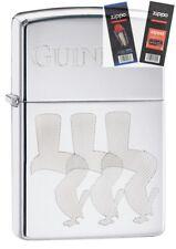 Zippo 29648 Guinness Beer Toucan Lighter with *FLINT & WICK GIFT SET*