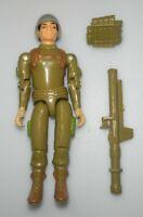 1982 GI Joe Bazooka Army Soldier Zap v1 Straight Arm Figure *Complete BROKEN*