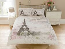 NEW Duvet Cover Quilt Cover Bedding Set: Paris Panel All Sizes