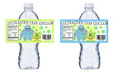 20 BABY MONSTERS INC SHOWER PARTY FAVORS WATER BOTTLE LABELS WRAPPERS