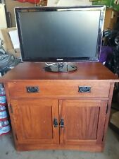 Wood Tv & Entertainment/Gaming Credenza, used but not abused, local pick up only