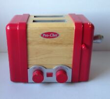 Pottery Barn Kids Red Wooden Toaster For Kitchen