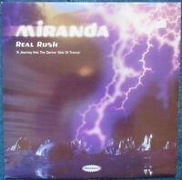 MIRANDA - Real Rush - 2 x Vinyl LP France 1997 Distance Rec.
