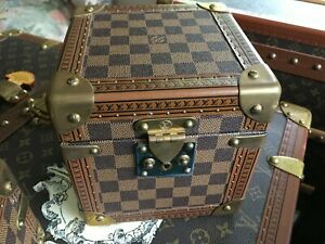 LOUIS VUITTON Monogram jewelry Steamer Trunk chest purse bag LV pm gm key 2