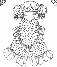 U Pick size Sewing Clothes doll dress Pattern More sizes