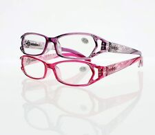 f538b95bebb5 Women Purple Red Rhinestone Reading Glasses +1.00 +1.50 +2.0 +3.0 +4.00