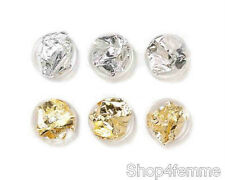 Gold and Silver Nail Art Foil Paper Set  - For Nail Art