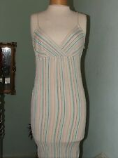 B.YOUNG 100% COTTON  STRIPEY SUNDRESS
