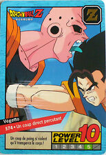 CARTE DRAGON BALL LE GRAND COMBAT N-¦ 574 VEGETTO POWER LEVEL 10