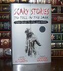 Scary Stories to Tell in Dark by Alvin Schwartz Illustrated 3 Scary Hardcover