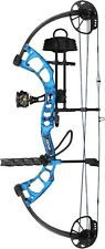 New 2016 Bear Archery Cruzer RTH 5-70# Left Hand AP Blue Camo Bow Package