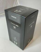 Olympus M.Zuiko Digital ED 17mm f/1.2 PRO Lens Black V311100BU000