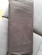 Plain Black Double Duvet Cover
