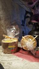 2 x Yankee candle clay earthenware LIETUVA LITHUANIA.