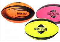 """Surf State Rugby Ball 8"""" Inflatable Outdoor Play Toy Soft Holiday Pool Garden"""
