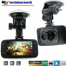 "2.7"" 1080P H.264 Car DVR Vehicle Camera Video Recorder Dash Cam G-sensor GS8000L"