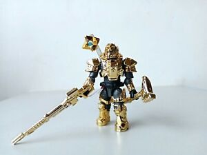 Mega Bloks Destiny DPJ11 Titan Customized electroplated gold rare