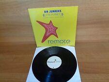 DA JUNKIE : FAB PLANET  ( Includes Saeed & Palash Remix ) : 12'' Vinyl Single