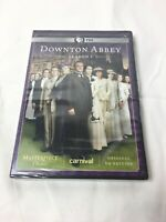DOWNTON ABBEY: SEASON 1, 3-DISC DVD SET, MASTERPIECE CLASSIC, UK EDITION, NEW