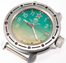VOSTOK Komandirskie Military Army Vtg watch 17J Zakaz MO USSR 2414A Paratrooper
