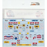 Museum Collection 1/20 Ferrari F189 & 641/2 Decal for Fujimi & TAMIYA D610