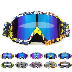 Printing Cycling Sunglasses MTB BMX Bike Riding Windproof Goggles Glasses UV400